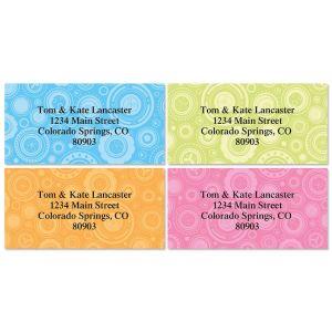 Ultra Chic Border Address Labels  (4 Designs)