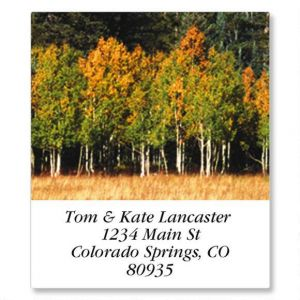 Autumn Colors Select Address Labels  (24 Designs)