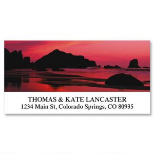 Sunrise In America Deluxe Address Labels  (12 Designs)