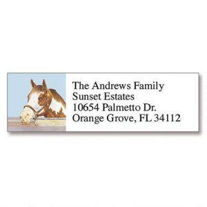 Equine Classic Address Labels  (6 Designs)