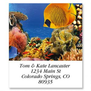 Undersea Select Address Labels  (12 Designs)