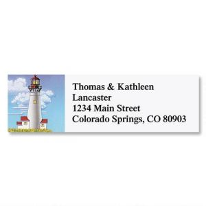 Lighthouses Classic Address Labels  (6 Designs)