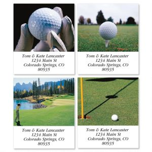 Golf Spectacular Select Address Labels  (4 Designs)