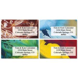 Mod Twisters Border Address Labels  (4 Designs)