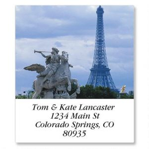 European Destinations Select Address Labels  (24 Designs)