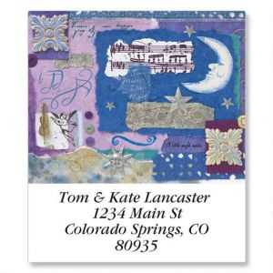 Handmade Year Round Select Return Address Labels  (12 Designs)