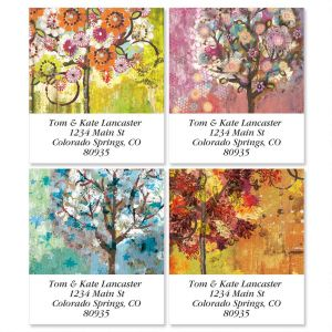 Siebert's Seasons Select Return Address Labels  (4 Designs)
