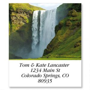 Enchanting Waterfalls  Select Address Labels  (24 Designs)