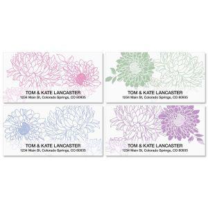 Flora Deluxe Address Labels  (4 Designs)