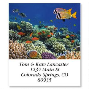 Jewels Of The Sea Select Address Labels  (12 Designs)