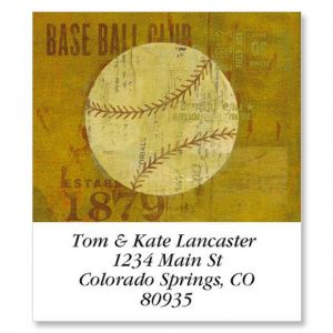 Sports Balls Select Address Labels  (8 Designs)