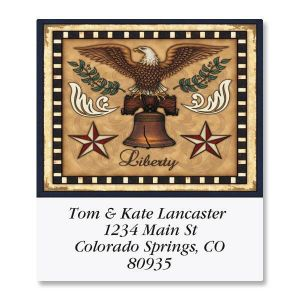 Liberty Select Address Labels  (6 Designs)