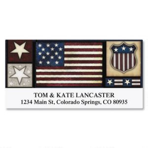 Liberty! Deluxe Address Labels  (6 Designs)