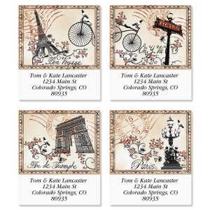 Tour de France Select Address Labels  (4 Designs)