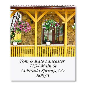 Peaceful Porches Select Address Labels  (6 Designs)