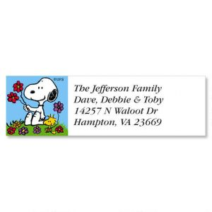 PEANUTS®  Year-Round Classic Address Labels  (12 Designs)