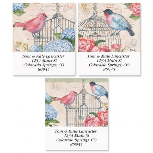 Bella Flora Select Address Labels  (3 Designs)