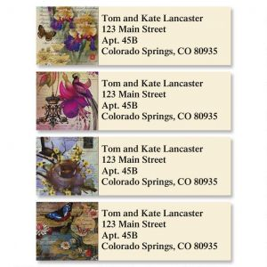 Springtime Fantasy Classic Address Labels  (4 Designs)