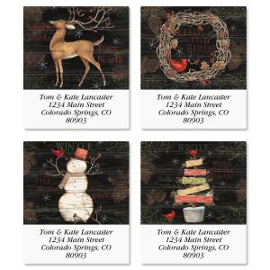 Winter Palette Select Address Labels  (4 Designs)