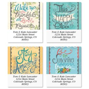 Bliss Select Address Labels  (4 Designs)