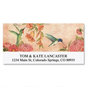 Seasonal Birds Deluxe Address Labels  (8 Designs)