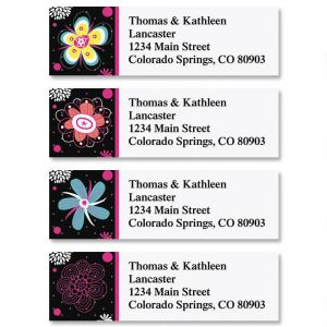 Vibrant Classic Address Labels  (4 Designs)