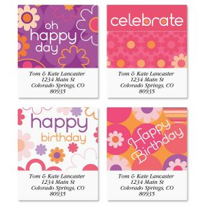 Daisy Delight Select Address Labels  (4 Designs)