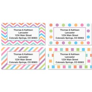 Graphix Border Address Labels  (4 Designs)