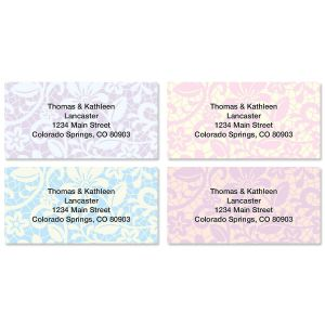 Lace Border Address Labels  (4 Designs)