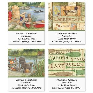 Lakeside Select Address Labels  (4 Designs)