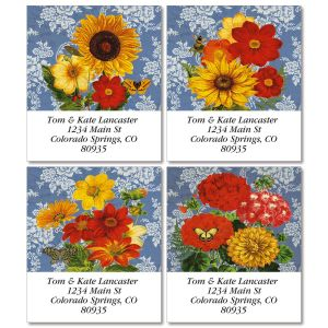Sunflower Chambray Select Address Labels  (4 Designs)
