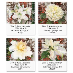Winter Blooms Select Address Labels  (4 Designs)