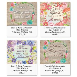 Spring Blossoms Select Address Labels  (4 Designs)
