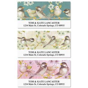 Word Bird Deluxe Address Labels  (4 Designs)