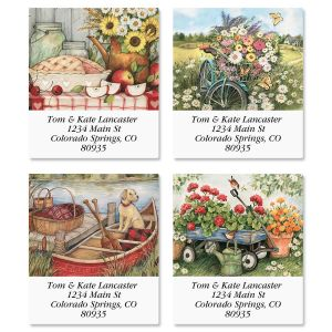 Heart and Home Select Address Labels  (4 Designs)