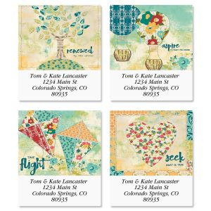 Quilted Inspiration Select Address Labels  (4 Designs)