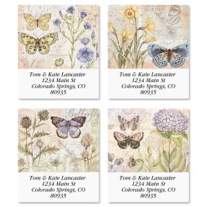 Butterfly Field Guide Select Address Labels  (4 Designs)