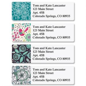 Fresh Print Classic Address Labels  (4 Designs)