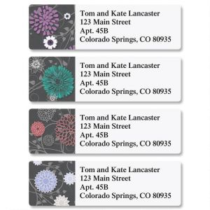 Grey Reflections Classic Address Labels  (4 Designs)