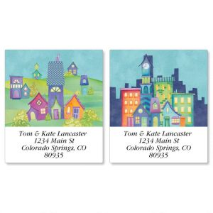 Town Talk Select Address Labels  (2 Designs)
