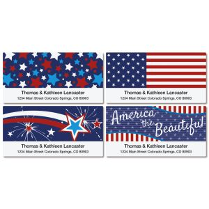 Allegiance Deluxe Address Labels   (4 Designs)