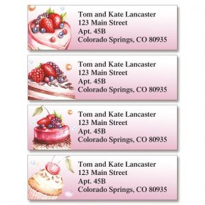 Stay Sweet Classic Address Labels  (4 Designs)