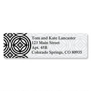 Modern Patterns Classic Address Labels  (6 Designs)