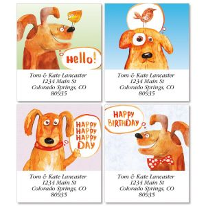 Nice Puppy Select Address Labels  (4 Designs)
