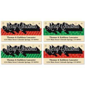 Long Live Christmas Deluxe Address Labels (4 Designs)