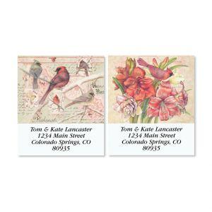 Free Bird Select Christmas Address Labels (2 Designs)