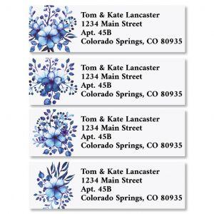 Little Bouquets Classic Return Address Labels (4 Designs)