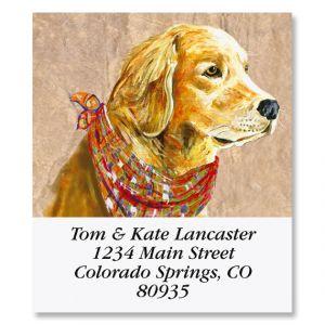 Canine Select Return Address Labels (8 Designs)