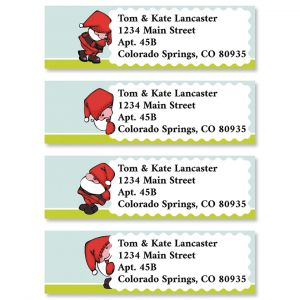 Little Santa Classic Address Labels (4 Designs)