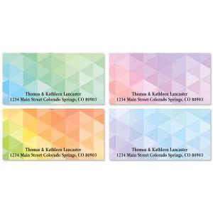 Polygon Deluxe Return Address Labels